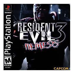 Resident Evil 3 Nemesis Sony Playstation 1 1999 Game Igloo