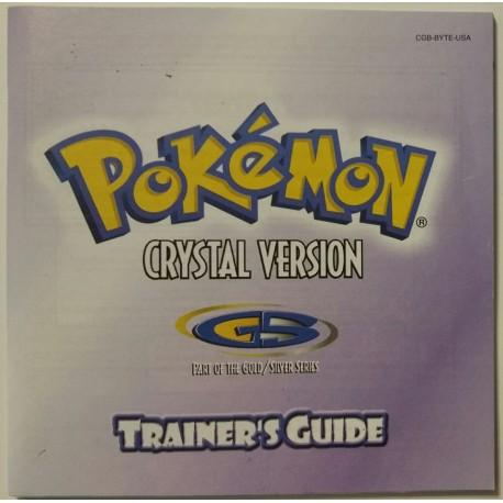 Pokemon Crystal Version (Nintendo Game Boy Color, 2001)