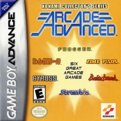 Konami Collector's Series: Arcade Advanced (Nintendo Game Boy Advance, 2002)