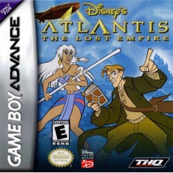Disney's Atlantis: The Lost Empire (Nintendo Game Boy Advance, 2001)