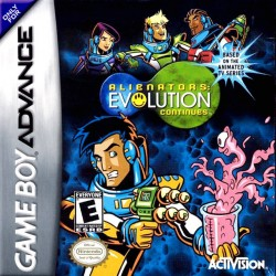 Alienators: Evolution Continues (Nintendo Game Boy Advance, 2001)