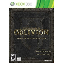 The Elder Scrolls IV: Oblivion (Microsoft Xbox 360 & Xbox One, 2007)