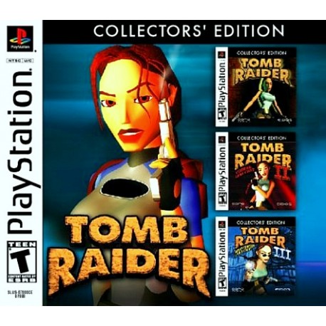Tomb Raider Collector S Edition Sony Playstation 1 2002 Game