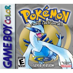 Pokemon Silver Version (Nintendo Game Boy Color, 2000)