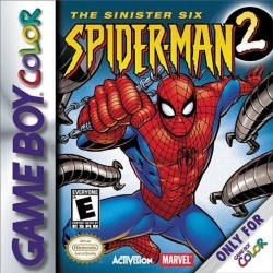 Spider-Man 2 The Sinister Six (Nintendo Game Boy Color, 2001)