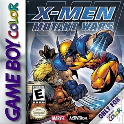 X-Men: Mutant Wars (Nintendo Game Boy Color, 2000)