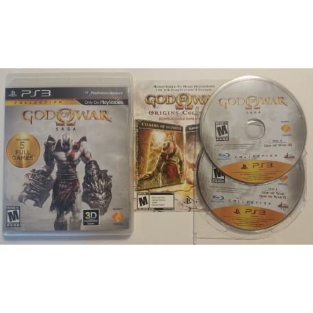 God of war ghost of sparta godly possessions