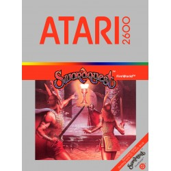 Swordquest: FireWorld (Atari 2600, 1982)