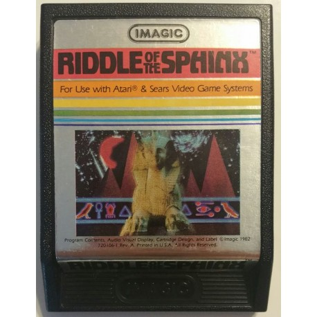 Riddle of the Sphinx (Atari 2600, 1982)