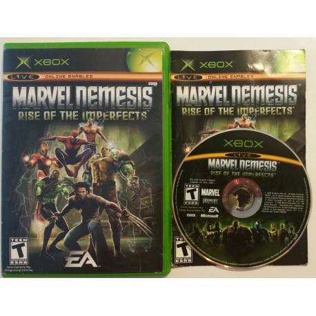 Marvel Nemesis Rise of the Imperfects (Microsoft Xbox, 2005)