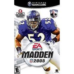 Madden NFL 2005 (Nintendo GameCube, 2004)