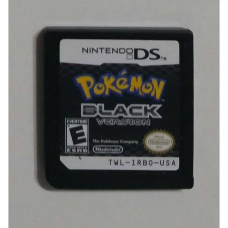 pokemon black version nintendo ds