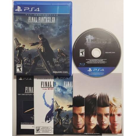 Final Fantasy XV (Sony PlayStation 4, 2016)