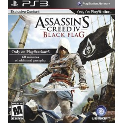 Assassin's Creed IV Black Flag (Sony Playstation 3, 2013)