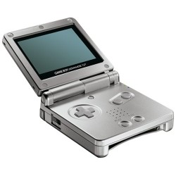 Platinum Game Boy Advance SP AGS-001