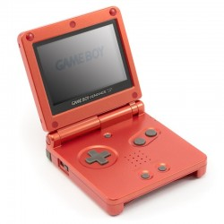 Game Boy Advance SP AGS-001 Red