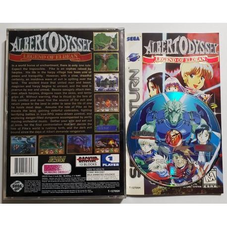 Albert Odyssey: Legend of Eldean (Sega Saturn, 1997)