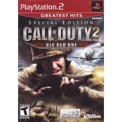 Call of Duty 2 Big Red One Special Edition (Sony PlayStation 2, 2006)