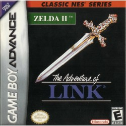 Zelda 2 The Adventure of Link (Nintendo Game Boy Advance, 2002)
