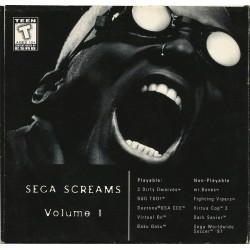Sega Screams (Sega Saturn, 1996)