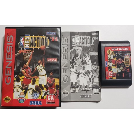 NBA Showdown 94 (Sega Genesis, 1994)