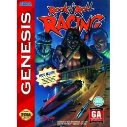 Rock 'n Roll Racing (Sega Genesis, 1994)
