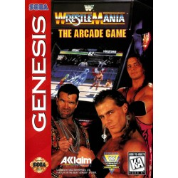 WWF WrestleMania The Arcade Game (Sega Genesis, 1995)