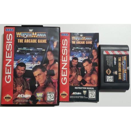 WWF WrestleMania The Arcade Game (Sega Genesis, 1995)