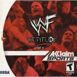 WWF Attitude (Sega Dreamcast, 1999)