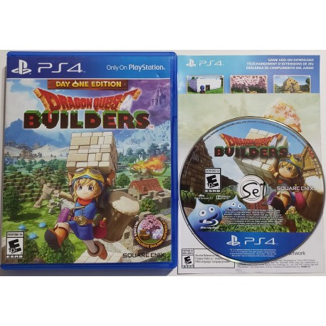 Dragon Quest Builders (Sony PlayStation 4, 2016)