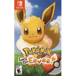 Pokemon Let's Go Eevee! Pokeball Plus Bundle (Nintendo Switch, 2018)