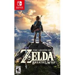 Legend of Zelda Breath of the Wild (Nintendo Switch, 2017)