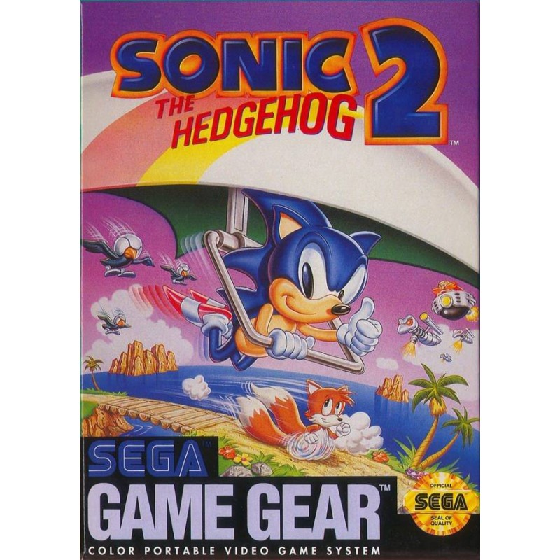 Sonic The Hedgehog 2 Sega Game Gear