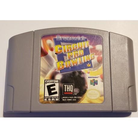 Brunswick Circuit Pro Bowling (Nintendo 64, 1999)