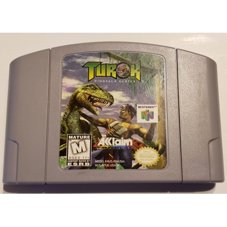 Turok Dinosaur Hunter (Nintendo 64, 1997)