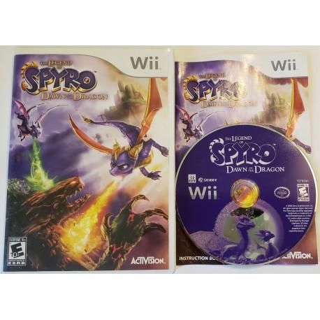 Spyro Dawn of the Dragon (Nintendo Wii, 2008)