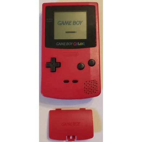 Nintendo Game Boy Color Berry Pink handheld